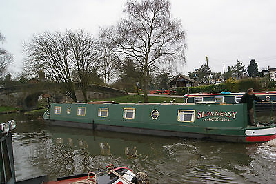 Slow n Easy - 65ft semi-traditional stern narrowboat