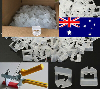 Tile Leveling System Kit 1000 Clips from australia