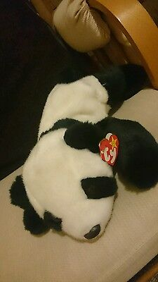 Beanie Buddie Peking Panda Bear TY Collectors Toy With Tag