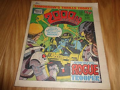 2000 AD comic - Prog 237 in nice condition