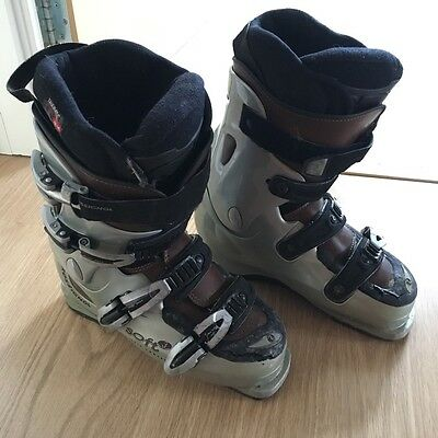 Ladies Rossignol Ski boots size 6 - grey, black and brown