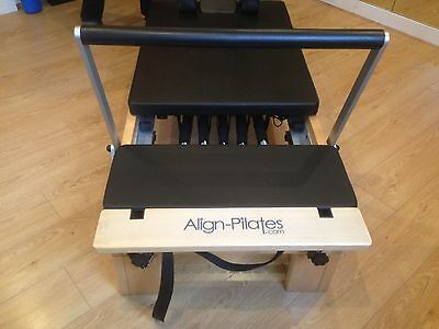 Pilates Reformer - Wooden Align Pilates M1 with half cadillac and extras