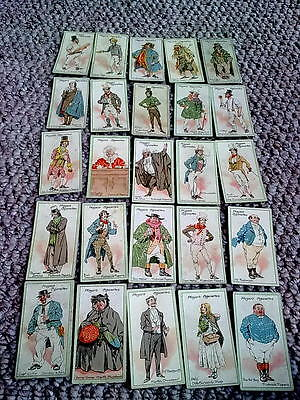 Cigarette Cards - John Players & Sons. Characters from Dickens. Complete Set