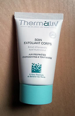 THERMALIV Soin Exfoliant Corps - Tube 30 ml NEUF !