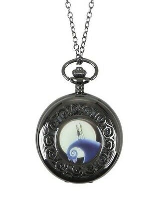 Disney The Nightmare Before Christmas Pocket Watch Necklace Gift New With Tags!