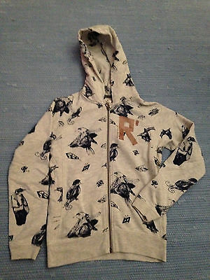 Scotch R'belle zip hoodie birds 140cm 10 years