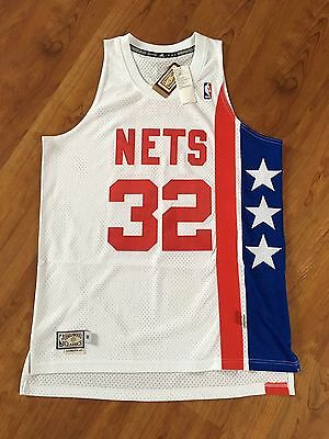 New York Nets Julius Erving NBA Swingman Jersey Basketball Trikot Bulls Jordan