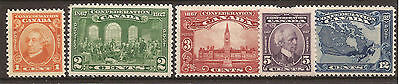 Canada 1927  SG 266-271 UMM set of 5. Cat £50