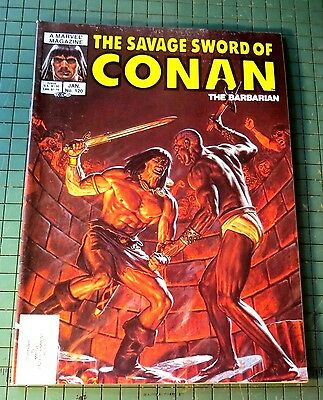 The Savage Sword of Conan #120 Copper age Comic Mag Format Sh1