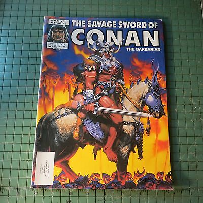 The Savage Sword of Conan #117 Copper age Comic Mag Format Sh1