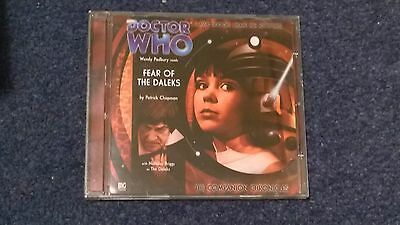 Doctor who BIG FINISH audiobook - 1.2  (CD)  - FEAR OF THE DALEKS