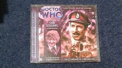 Doctor who BIG FINISH audiobook - 2.3  (CD)  - OLD SOLDIERS