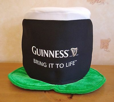 New Guinness St Patrick's Day Bring It To Life Novelty Foam Hat Pub Bar Home