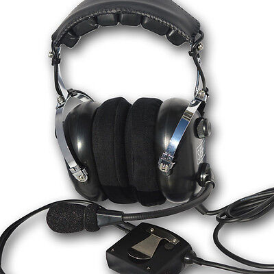 SEHT SH 30-60 Active Noise Cancelling Pilots Aviation Headset (5YR WARRANTY)