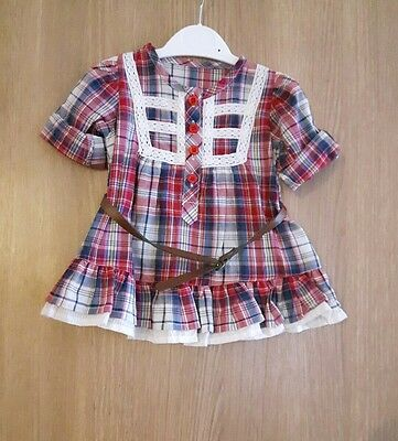 Baby Girls Dress Top Age 3-6 Months