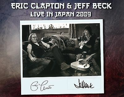 Eric Clapton & Jeff Beck - Live In Japan 2009 - 3 Cd