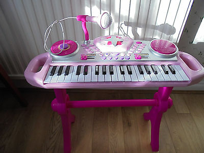 Toy Piano/Keyboard & Stool, Live Mike and Recording.