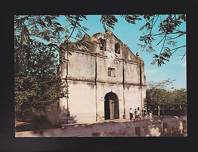 Nicoya Province of Guanacaste with its Church Costa Rica post card