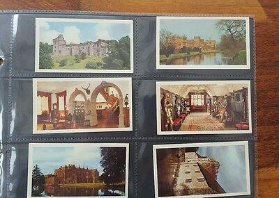 Doncella Cigars Set Of 32 Cards Country Houses And Castles 1981 John Player