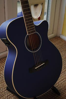 Blue Tanglewood Discovery Electro Acoustic Guitar with Pre-amp