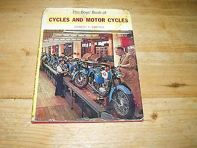 The Boy's Book of Cycles & Motor Cycles dated 1962.