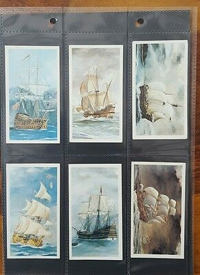 Doncella Cigars Set Of 24 Cards Golden Age Of Sail 1978 John Player