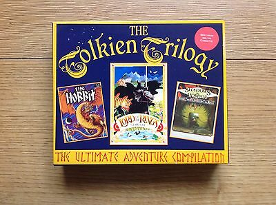 Tolkien Trilogy Sinclair ZX Spectrum Game TESTED Lord Of The Rings The Hobbit