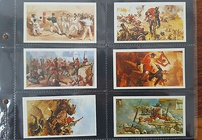 Doncella Cigars Set Of 24 Cards History Of The Victoria Cross 1980 John Player