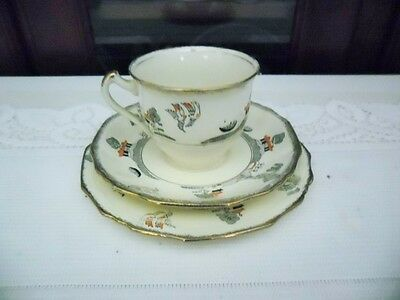 Alfred Meakin Cup Saucer And Plate Willowette Pattern England