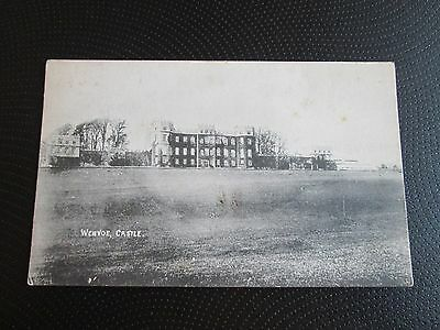 Wenvoe Castle Vale Of Glamorgan Printed Postcard Unposted Has Some Foxing
