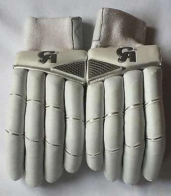 CA All White Pro Batting Gloves - Brand New - Exclusive!!!