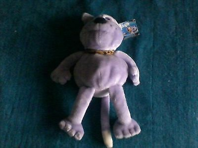 creature comforts captain cuddlepuss soft toy 17 inches tall very good condition