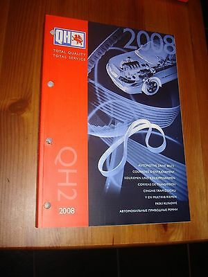 Quinton Hazel QH2 Catalogue - Automotive Drive Belts 2008