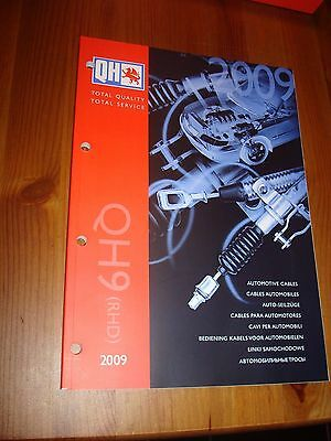 Quinton Hazel QH9 (RHD) Automotive Cables Catalogue - 2009