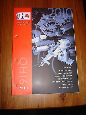 Quinton Hazel Catalogue - QH16 - Fuel Pumps - 2010