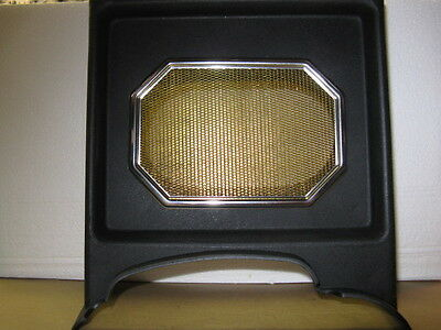 MGB parts: New 62-67 CONSOLE & Radio SPEAKER BEZEL& GRILLE MGBGT
