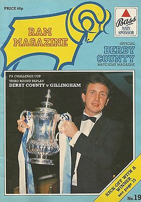 Derby County v Gillingham, 8 January 1986, FA Cup