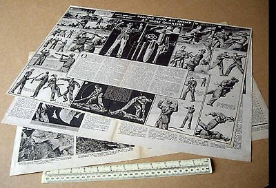 Dealing With an Enemy at Close Quarters Home Guard Training Chart 1940 V1 #28