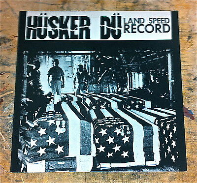 Husker Du ~ Original Alternative Tentacles Uk Vinyl Lp ~ Land Speed Record