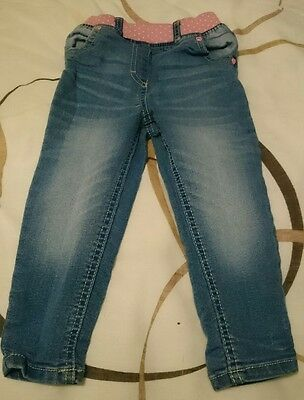 lovely girls jeans age 18-24 months