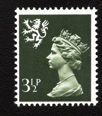S17 3½p Olive-grey Two bands SCOTLAND Regional Unmounted Mint GB