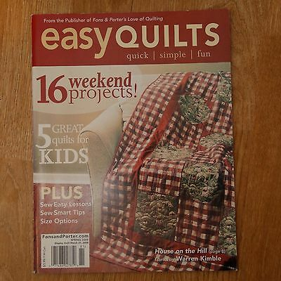 Patchwork & Quilting : Fons & Porter's Love of Quilting Easy Quilts Spring 2008