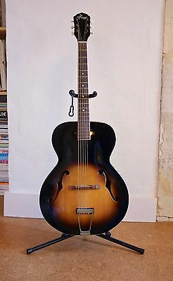 Kay Vintage Archtop 50s-60s Jazz Acoustic Guitar - USA Made With Hard Case
