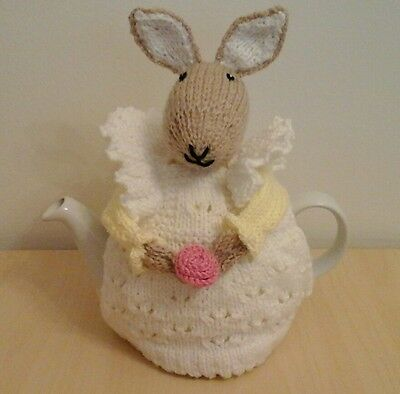 Decorative Handknitted Tea Cosy