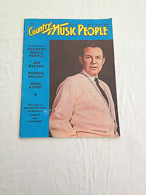 Country Music People Magazine Dated January 1984