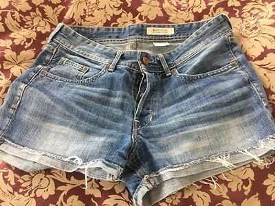boyfriend loose denim shorts size s