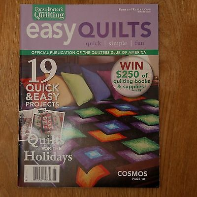 Patchwork & Quilting : Fons & Porter's Love of Quilting Easy Quilts Winter 2008