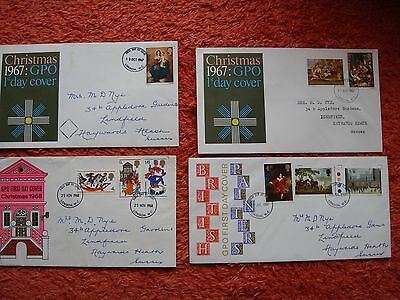Four First Day Covers