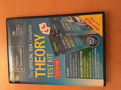 The Official Dsa Complete Theory Test Kit  Dvd