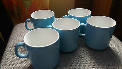 5 X Small Cups/mugs Made In England
